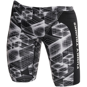 Funky Trunks Training Bañador Jammer Niños, black hole